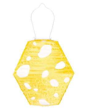 Yellow and White Soji Solar Lantern