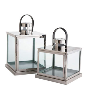 Square Glass Lanterns