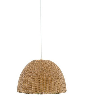 Outdoor Wicker Pendant Light