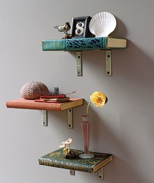 Create Book Shelves Real Simple