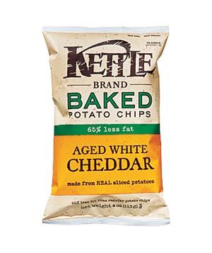 Kettle Baked Aged White Cheddar Potato Chips