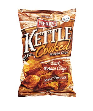 Herr's Kettle Cooked Dark Potato Chips