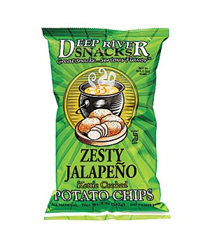 Deep River Zesty Jalapeño Potato Chips