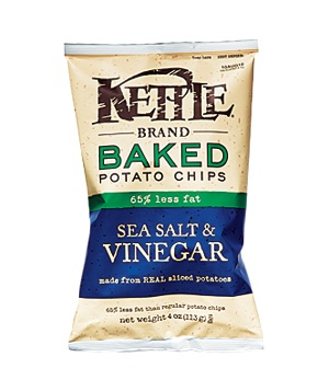 Kettle Baked Sea Salt & Vinegar Potato Chips