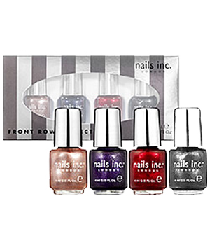 Nails Inc. Front Row Collection