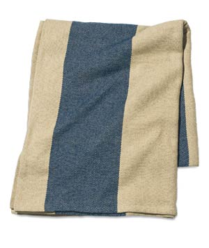 Cotton-twill blanket