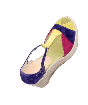 Bettye Muller suede wedges