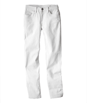 White Jeans for Every Shape