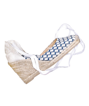 EspadrillesEtc.com cotton wedges