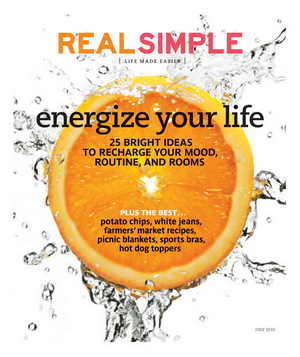Real Simple July 2010