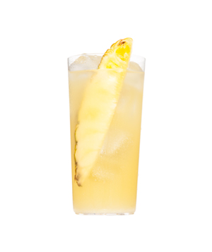 Pineapple, Lime, and Coconut Spritzer