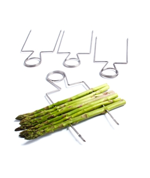 Sur la Table Double Raft Stainless-Steel Grill Skewers