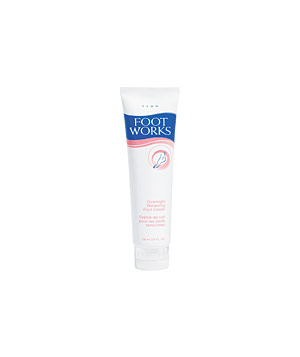 Avon's Foot Works Overnight Renewing Foot Cream