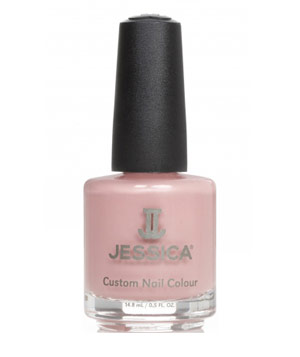 Jessica Cosmetics' Haute Couture nailpolish in pale pink