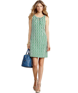 Tommy Hilfiger Sleeveless Printed Dress