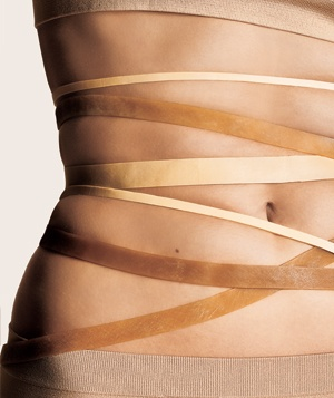 rubberband stretch marks