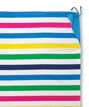 Adult beach striped blanket