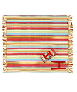 Seaside Stripe Picnic Blanket