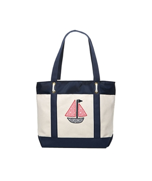 Sailboat Classic Tote by Vineyard Vines