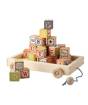 Alphabet Wagon Blocks