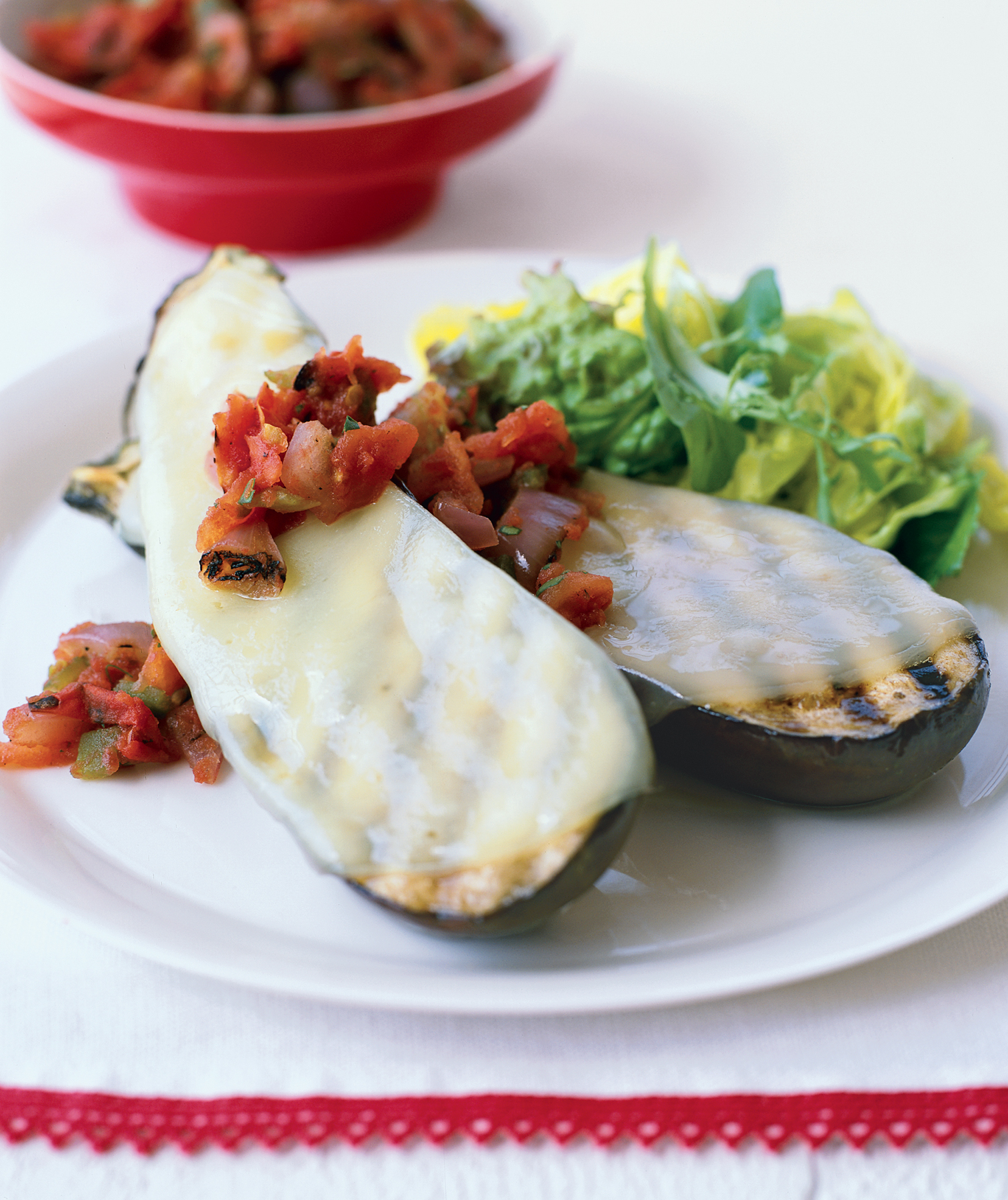 Grilled Eggplant Provolone
