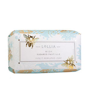 Wish Shea Butter Soap From Lollia by Margot Elena