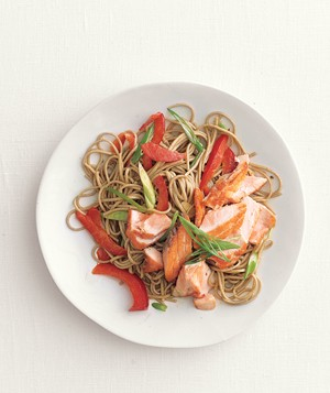 Salmon and Soba Salad