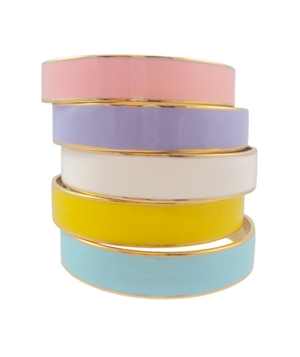 Pastel Enamel Bangle