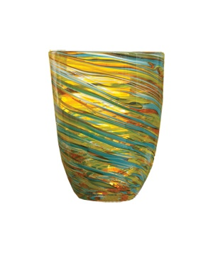 Tozai home glass vase