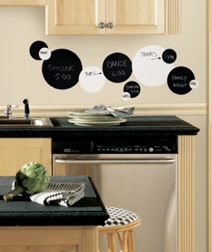 Chalkboard and Dry Erase Wall Decals