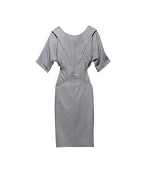 French Connection viscose-blend dress