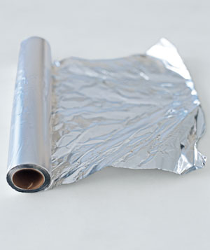 Roll of aluminum foil