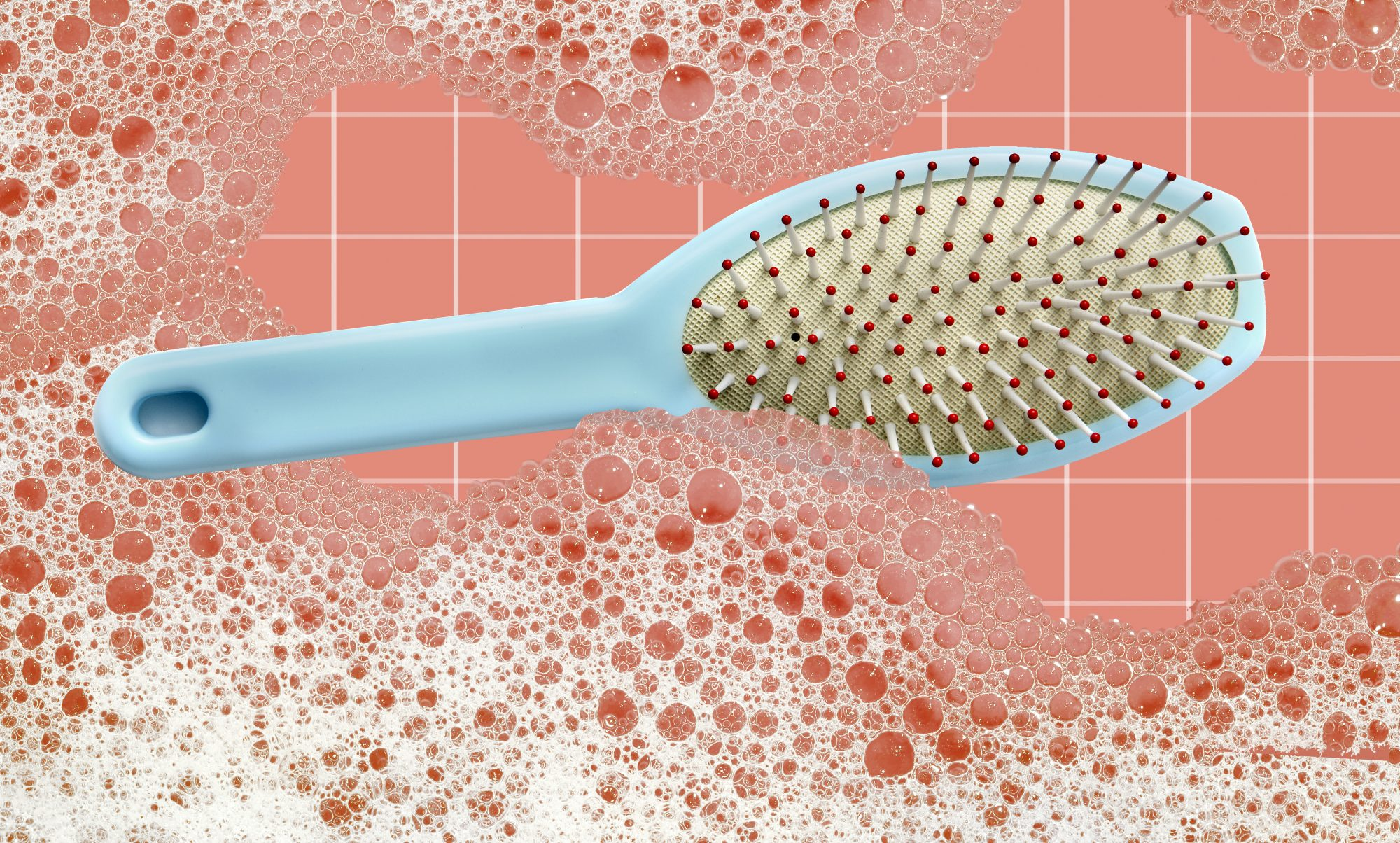 Here's How to Clean a Hairbrush