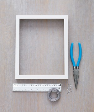 Frame ruler and pliers