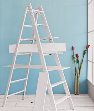 Ladder in room