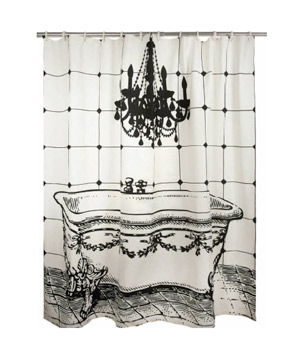 Thomaspaul Luddite Shower Curtain