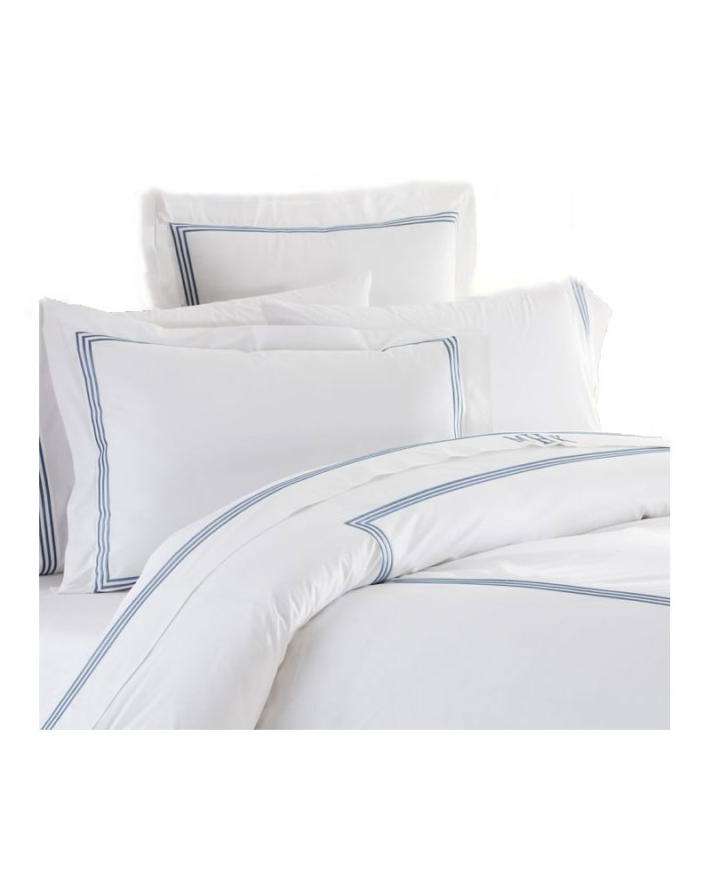 Grand Embroidered 200-Thread-Count Duvet Cover