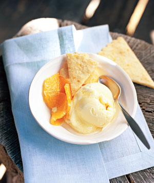 Shortbread With Oranges and Honey