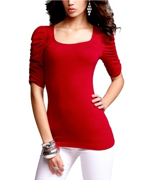 Luxe Stretch Tee by Express