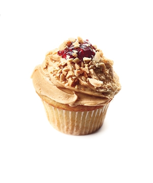 PB-and-jam session cupcake