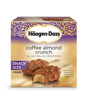 Haagen-Dazs Coffee Almond Crunch