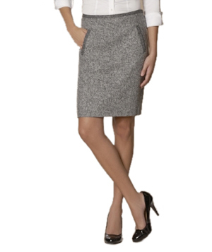 Tweed pencil Skirt by The Limited