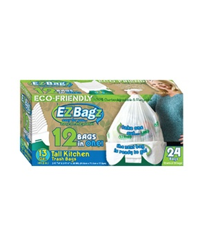 EZ Bagz Tall Kitchen Trash Bags