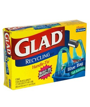 Glad Tall Kitchen Recycling Trash Bag