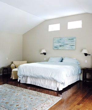 Katherine Movalson's unfinished bedroom