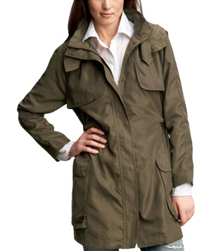 Long anorak by Gap