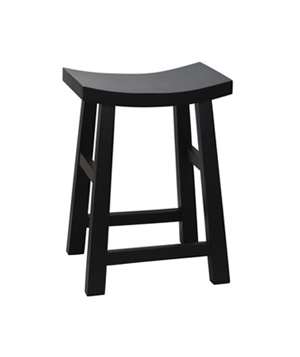 Curve Seat Wooden Stool