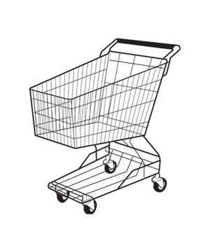 Shopping cart illo