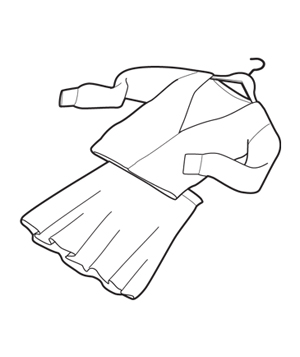 Dress clothes illo