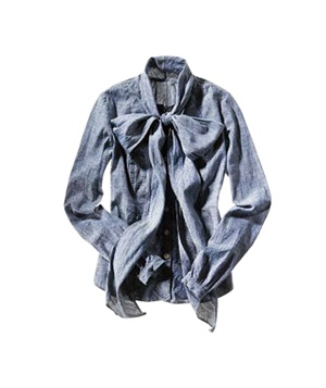 Billy Reid cotton-chambray shirt
